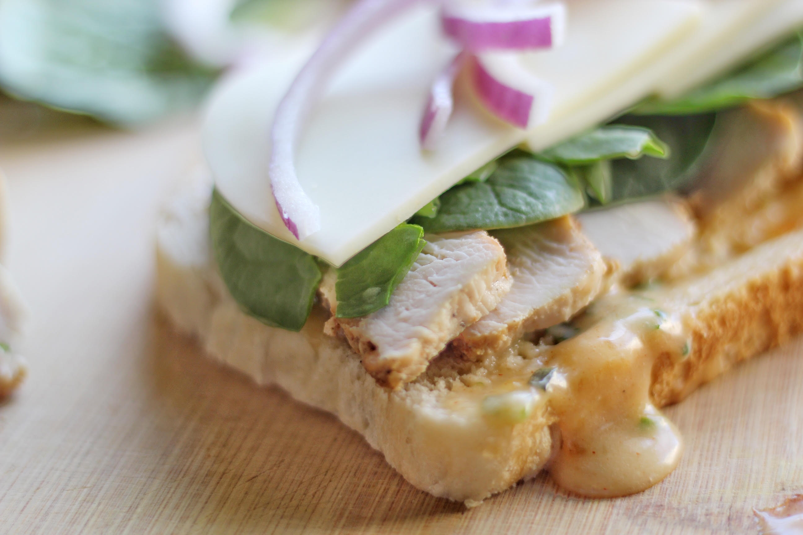 Chicken Panini with Apricot Sauce