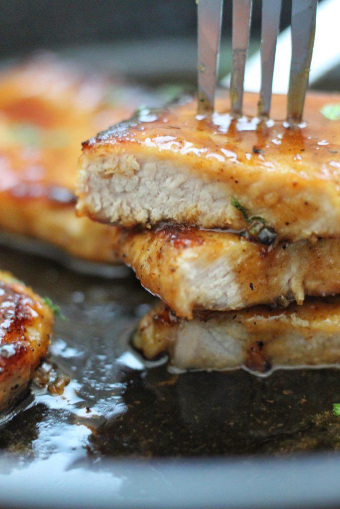 Honey Garlic Pork Chops Chef Elizabeth Reese