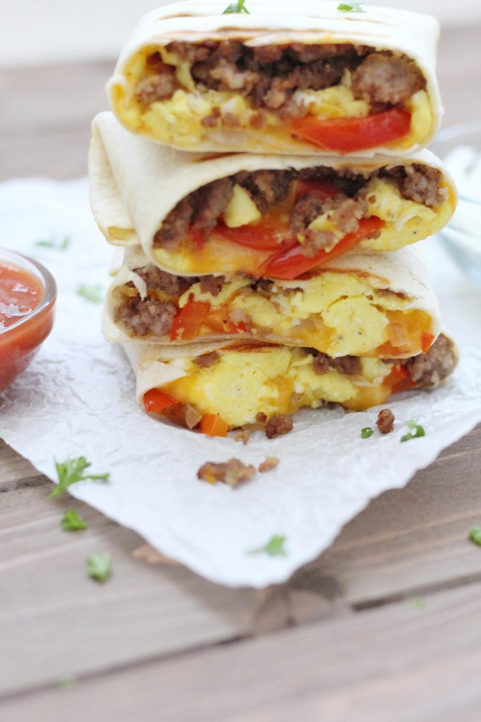 Loaded Breakfast Burrito