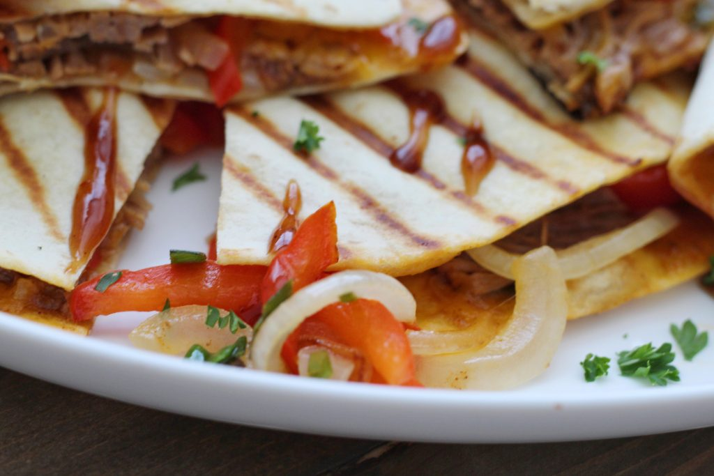 Pulled Pork Quesadilla