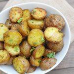 Roasted Garlic Butter Potatoes