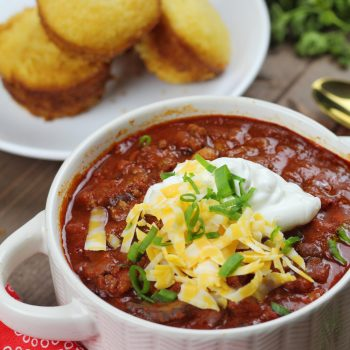 The BEST Crockpot Chili