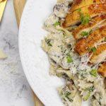 Creamy Chicken Bowtie Pasta