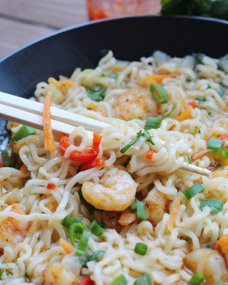 Shrimp Ramen Bowls