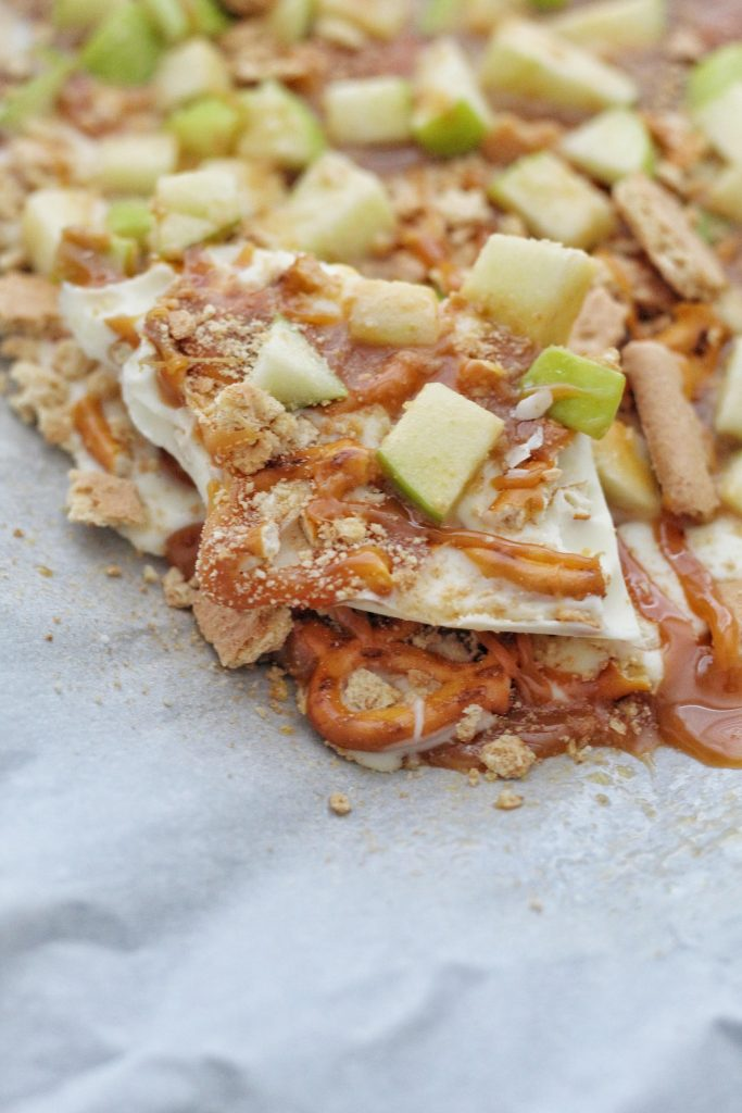 Caramel Apple Pie Bark