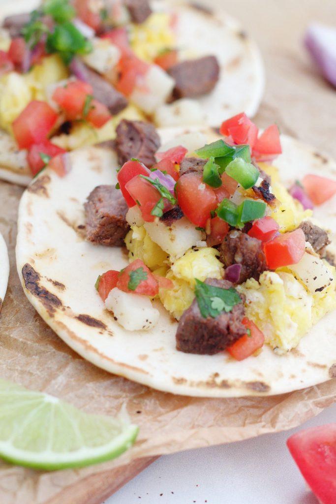 Breakfast Street Tacos