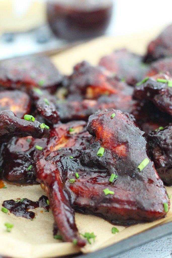 Blueberry Barbecue Chicken