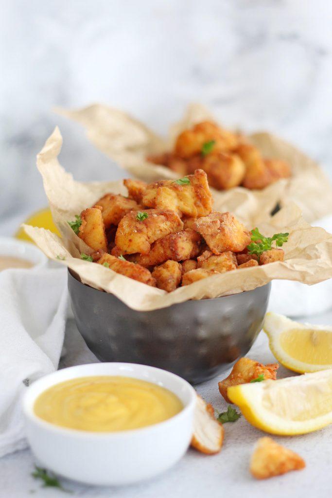 Cajun Popcorn Chicken