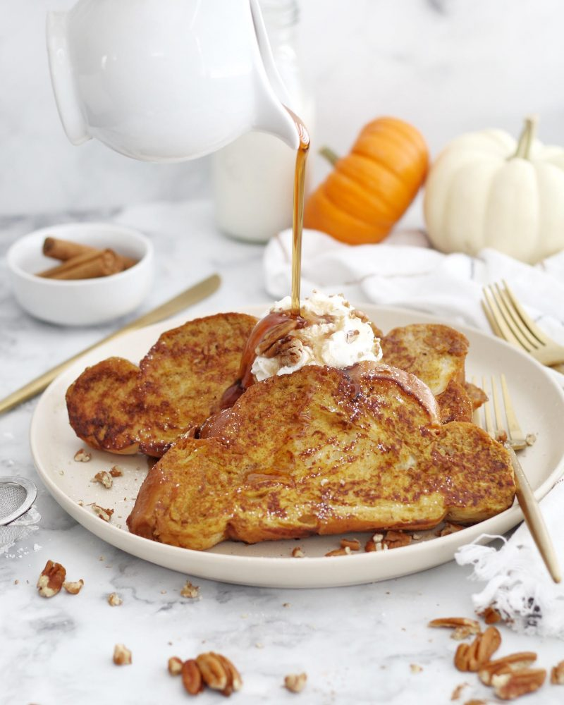 Pumpkin Spice French Toast